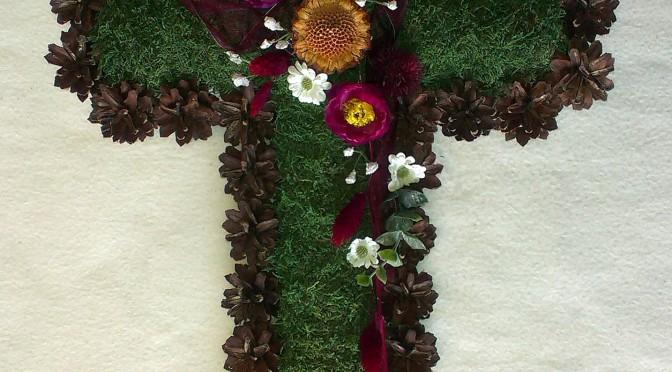 Príležitostná dekorácia – kríž II.