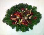Zlatoškoricový vianočný aranžmán