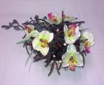 Hniezdo s orchideami